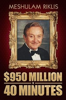 950$million in 40 min- Meshulam riklis